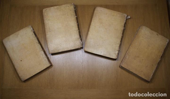 Libros antiguos: 4 LIBROS SIGLO XVI. 1581. PERGAMINO. D. IOANNIS CHRYSOSTOMI ARCHIEPISCOPI CONSTANTINOPOLITANI OPERUM - Foto 4 - 118003707