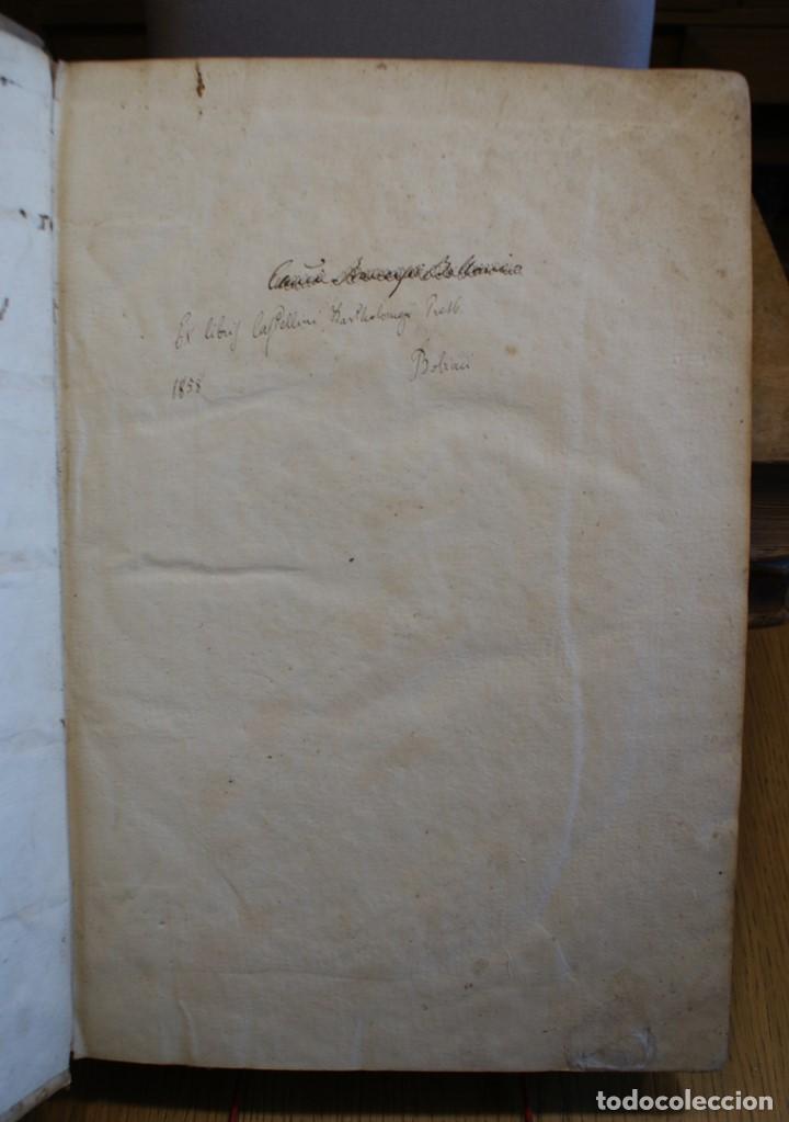 Libros antiguos: 4 LIBROS SIGLO XVI. 1581. PERGAMINO. D. IOANNIS CHRYSOSTOMI ARCHIEPISCOPI CONSTANTINOPOLITANI OPERUM - Foto 15 - 118003707