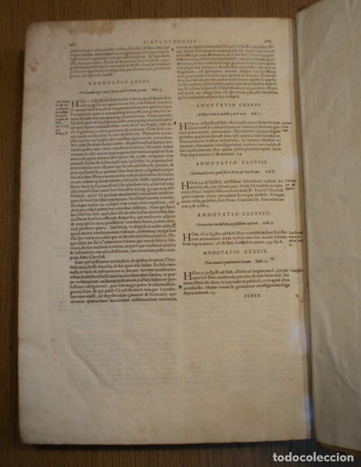 Libros antiguos: 4 LIBROS SIGLO XVI. 1581. PERGAMINO. D. IOANNIS CHRYSOSTOMI ARCHIEPISCOPI CONSTANTINOPOLITANI OPERUM - Foto 18 - 118003707