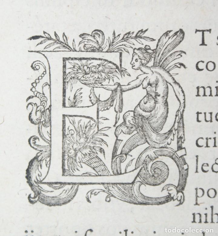 Libros antiguos: 4 LIBROS SIGLO XVI. 1581. PERGAMINO. D. IOANNIS CHRYSOSTOMI ARCHIEPISCOPI CONSTANTINOPOLITANI OPERUM - Foto 25 - 118003707