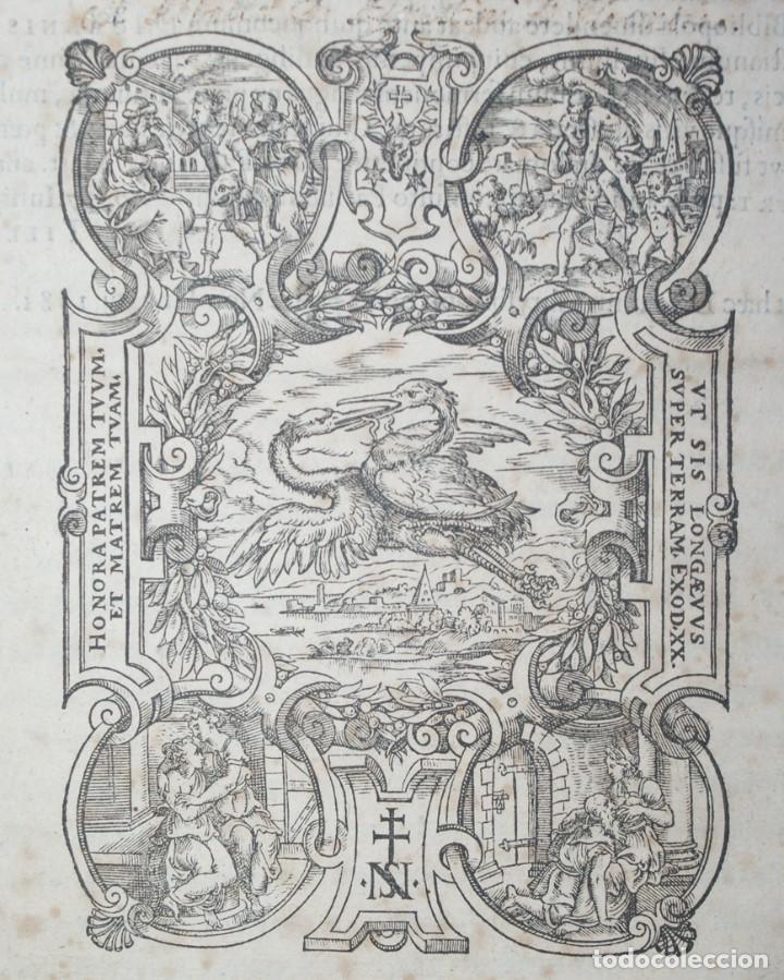 Libros antiguos: 4 LIBROS SIGLO XVI. 1581. PERGAMINO. D. IOANNIS CHRYSOSTOMI ARCHIEPISCOPI CONSTANTINOPOLITANI OPERUM - Foto 28 - 118003707