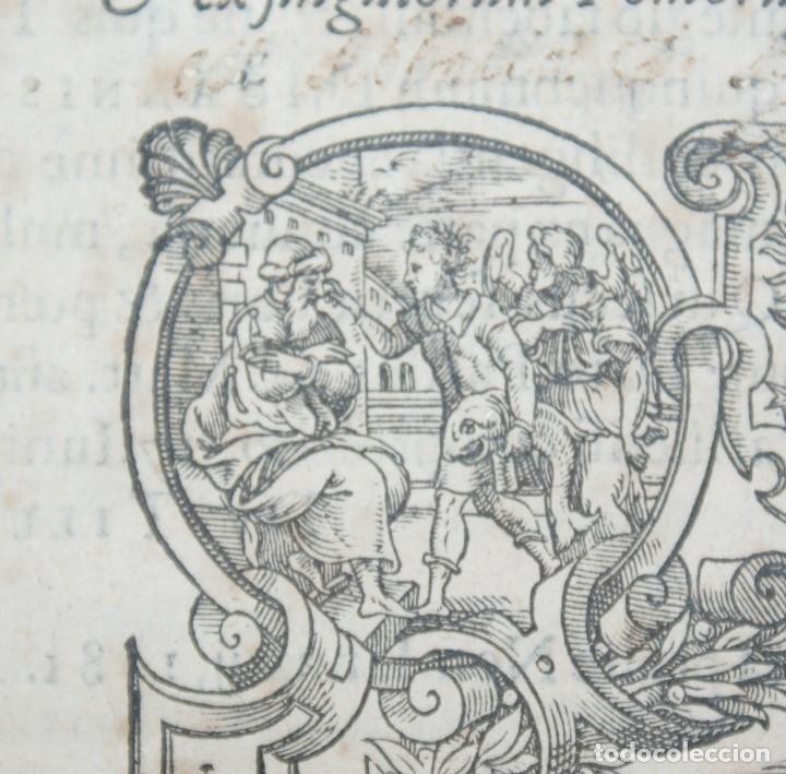 Libros antiguos: 4 LIBROS SIGLO XVI. 1581. PERGAMINO. D. IOANNIS CHRYSOSTOMI ARCHIEPISCOPI CONSTANTINOPOLITANI OPERUM - Foto 29 - 118003707