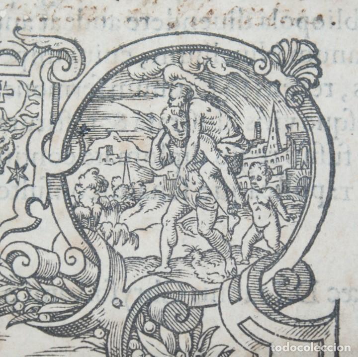 Libros antiguos: 4 LIBROS SIGLO XVI. 1581. PERGAMINO. D. IOANNIS CHRYSOSTOMI ARCHIEPISCOPI CONSTANTINOPOLITANI OPERUM - Foto 30 - 118003707