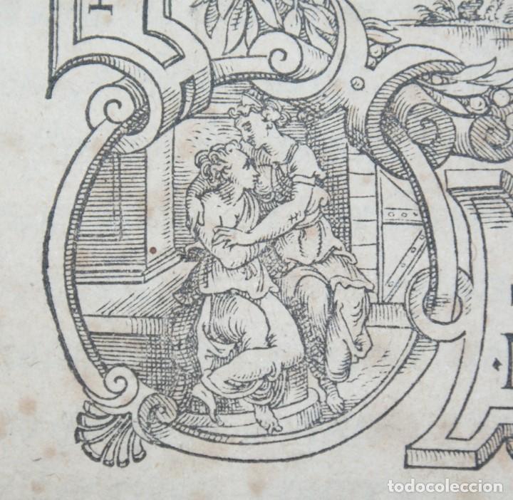 Libros antiguos: 4 LIBROS SIGLO XVI. 1581. PERGAMINO. D. IOANNIS CHRYSOSTOMI ARCHIEPISCOPI CONSTANTINOPOLITANI OPERUM - Foto 32 - 118003707