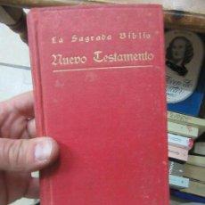 Livres anciens: LIBRO NUEVO TESTAMENTO LA SAGRADA BIBLIA 1916 L-13773-297. Lote 118385315