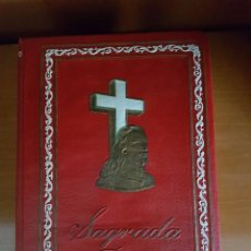 Livros antigos: SAGRADA BIBLIA (THE GROLIERSOCIETY INC) 1958 NUEVA YORK VERSION CASTELLANA. Lote 118454415