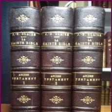 Libros antiguos: LA SANTA BIBLIA LA VULGATA PARÍS, ROGER Y CHERNOVIZ 1902 331,00 €. Lote 118536843