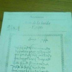Libros antiguos: AUTO DE LA HUIDA DE EGIPTO, ANÓNIMO, EDICIÓN FACSÍMIL FEDERICO DELCLAUX. Lote 118551163