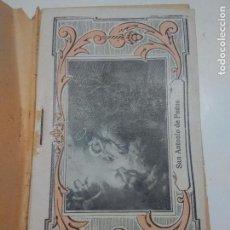 Libros antiguos: TRECE MARTES EN HONOR DE SAN ANTONIO DE PADUA. Lote 118610547