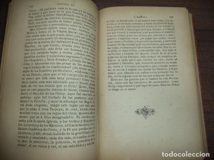 Libros antiguos: EPISTOLAS SELECTAS DE SAN JERONIMO. D. F. LOPEZ DE CUESTA. CON LICENCIA. 1896. - Foto 3 - 118882103