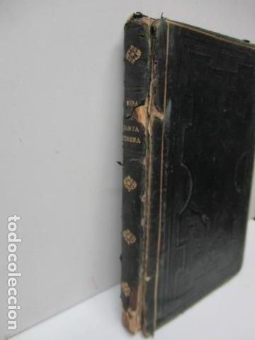 Libros antiguos: TESORO DE AUTORES ILUSTRES - TOMO LXXXI, OBRAS COMPLETAS DE SANTA TERESA DE JESÚS - 1857 - Foto 2 - 120116543