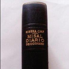 Libros antiguos: LIBRO MISAL DIARIO Y DEVOCIONARIO . Lote 120445807