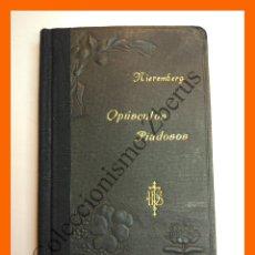 Libros antiguos: OPUSCULOS PIADOSOS - JUAN EUSEBIO NIEREMBERG. Lote 120622931