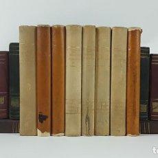 Libros antiguos: LOTE DE 8 LIBROS DE LA BIBLIOTECA D'EXERCICIS. BARCELONA. 1930-36.. Lote 121314567