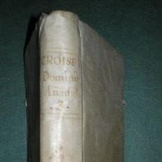 Libros antiguos: CROISET (CROISSET): AÑO CHRISTIANO TOMO III. PRIMERA EDICIÓN 1791. Lote 121506395
