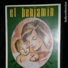 Libros antiguos: F1 EL BENJAMIN ALMANAQUE 1966. Lote 121586523