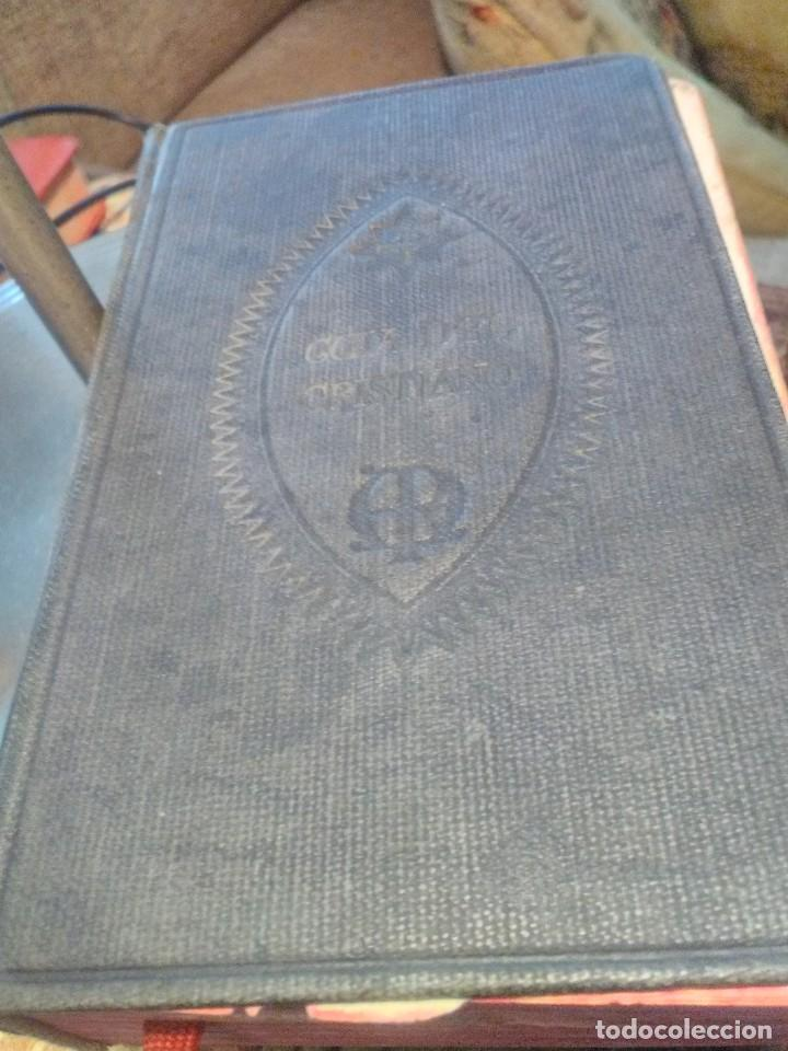GUIA DEL CRISTIANO DEVOCIONARIO POPULAR (Libros Antiguos, Raros y Curiosos - Religión)