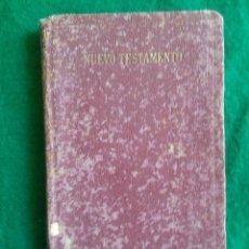 Libros antiguos: ANTIGUO LIBRO DEL NUEVO TESTAMENTO VERSIÓN DE CIPRIANO VARELA, 1932, MADRID.. Lote 122289587