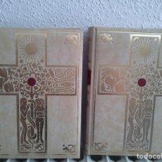 Libros antiguos: BIBLIA DE JERUSALEN TAMAÑO FOLIO EN EDICION DE LUJO EDICIÓN RENOVADA EDITADA EN 2006 2 TOMOS. Lote 122342539