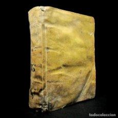 Livres anciens: AÑO 1762 SOLO 1 EJEMPLAR EN ESPAÑA IMPONENTE VOLUMEN IMPRESO EN LISBOA PERGAMINO FR. LOURENÇO. Lote 122694523