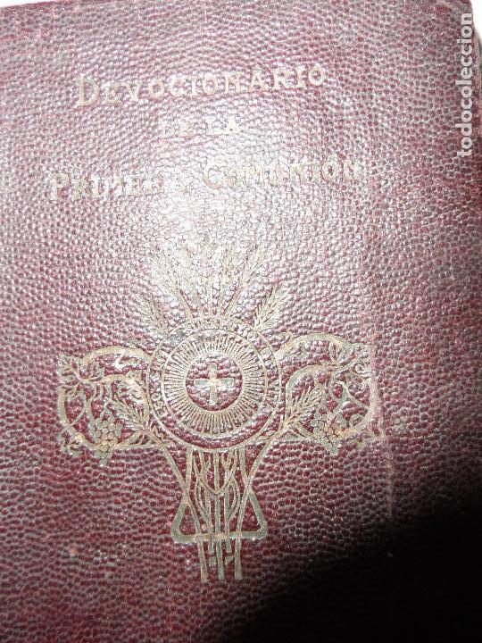 Libros antiguos: DEVOCIONARIO DE LA PRIMERA COMUNION POR REMIGIO VILARIÑO S.J. 1927 - Foto 2 - 122752223