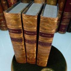 Libros antiguos: LA BIBLIA EN ESPAÑA POR BORROW - TRADUCIDA POR MANUEL AZAÑA - 3 TOMOS - COLECCIÓN GRANADA - 1921 -. Lote 123017171