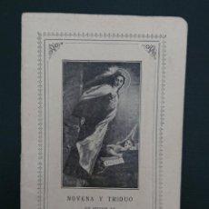 Libros antiguos: NOVENA Y TRIDUO EN HONOR DE SANTA TERESITA DEL NIÑO JESÚS 1929 . Lote 123122603