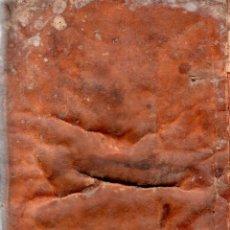 Libros antiguos: SCRUTINIUM SACERDOTALE. FABIO INCARNATO. 1615. ENCUADERNACION EN PERGAMINO. MEDIDAS : 16 X 11 CM.. Lote 123126667