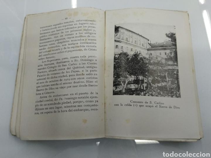 Libros antiguos: VIDA ANGELICAL DEL SIERVO DE DIOS P. FR. DOMINGO DEL SANTISIMO SACRAMENTO TRINITARIO 1928 - Foto 4 - 123261300