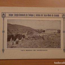 Libros antiguos: COLEGIO SEMINARIO DE TEÓLOGOS Y JURISTAS DEL SACRO MONTE DE GRANADA 1927. Lote 123878995