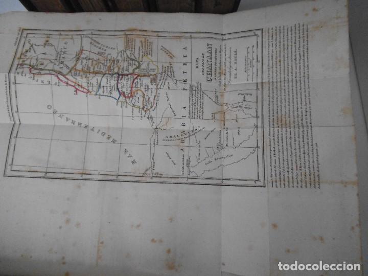 Old books: La Santa Biblia - 1852 - Completa - Laminas Grabados Mapas - Gofrada - P. Riera - Foto 7 - 124025171