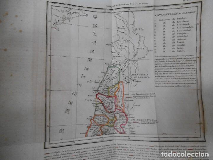 Old books: La Santa Biblia - 1852 - Completa - Laminas Grabados Mapas - Gofrada - P. Riera - Foto 14 - 124025171