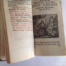 Libros antiguos: OFICIO DE LA SEMANA SANTA SEGÚN MISAL Y BREVIARIO ROMANOS. IMPRENTA VDA.E HIJO DE MARÍN. MADRID 1794. Lote 124304483