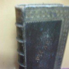 Libros antiguos: MISSEL PAROISSIAL. RITE ROMAIN. PARIS SANCHEZ EDITEUR. ENCUADERNACION EN PIEL CON DORADOS.. Lote 124417283