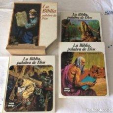 Libros antiguos: LA BIBLIA PALABRA DE DIOS ,3 VOLÚMENES . Lote 124560563