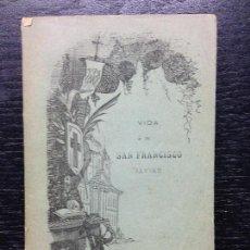 Libros antiguos: VIDA DEL APOSTOL DE LAS INDIAS SAN FRANCISCO JAVIER, RIVADENEIRA, P. PEDRO, 1884. Lote 124605139