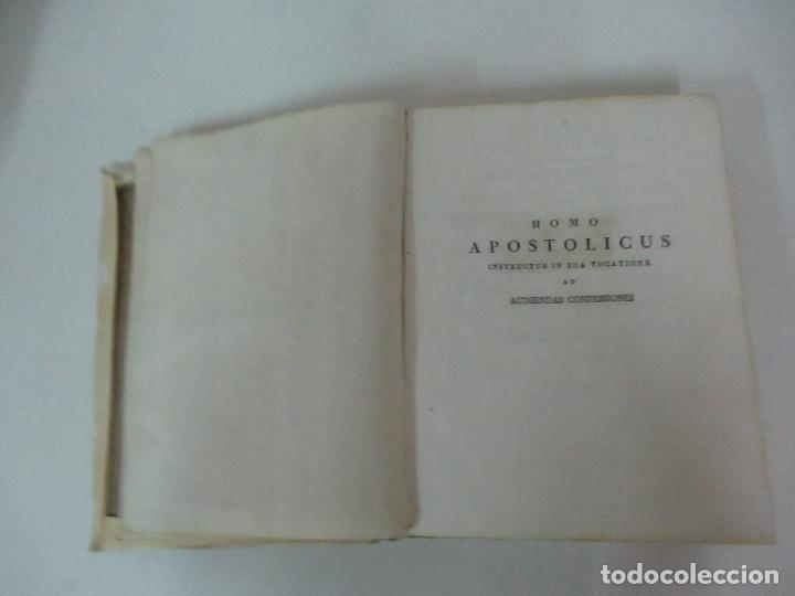Libros antiguos: Homo Apostolicus, Instructus in sua Vocatione AD Audiencias Confesiones - Con Tomos I-II-III- 1833 - Foto 1 - 125089851