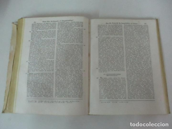 Libros antiguos: Homo Apostolicus, Instructus in sua Vocatione AD Audiencias Confesiones - Con Tomos I-II-III- 1833 - Foto 7 - 125089851