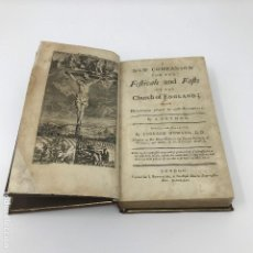 Libros antiguos: NEW COMPANION FOR THE FESTIVALS AND FASTS-1761. Lote 125306291