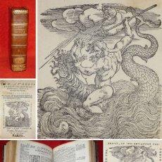 Libros antiguos: AÑO 1547 - POST INCUNABLE - SAN AGUSTÍN DE HIPONA - PRECIOSO - ESPECTACULARES GRABADOS DEL LEVIATAN. Lote 125350655