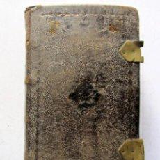 Libros antiguos: OFICIO DE LA SEMANA SANTA SEGÚN EL MISAL Y BREVIARIO ROMANOS, 1796. IMPRENTA REAL COMPAÑÍA DE IMPRES. Lote 125957187