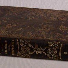 """Libros antiguos: PADRE ALONSO """"RODRÍGUEZ"""" EJERCICIO DE PERFECCIÓN. BARCELONA 1879. 1 TOMO DIMENSIONES: 21 X 15CM. . Lote 125957303"""