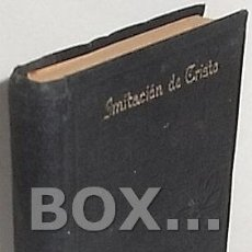 Libros antiguos: KEMPIS, TOMÁS DE. DE LA IMITACIÓN DE CRISTO. TRADUCCIÓN DEL P. JUAN EUSEBIO NIEREMBERG. Lote 125980703