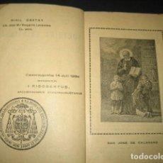 Libros antiguos: COMPENDIO DE DOCTRINA CRISTIANA 1934. ESCUELAS PIAS ZARAGOZA. POR EL PADRE CAYETANO RAMO.. Lote 126130387