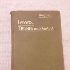 Libros antiguos: LIBRO LAYETA AÑO 1891 SIGLO XIX. Lote 126203543