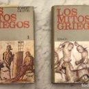 Libros antiguos: LOS MITOS GRIEGOS-2TOMOS(60€). Lote 126207775