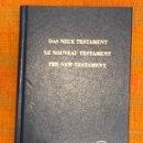 Libros antiguos: DAS NEUE TESTAMENT(12€). Lote 126208035