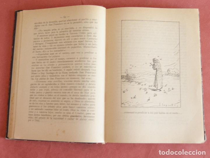 Libros antiguos: FLORECILLAS DE SAN FRANCISCO - ILUSTRACIONE JOSE SEGRELLES - VICH EDITORIAL SERIGRAFICA - 1927 - Foto 4 - 126251363