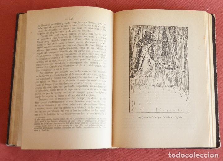 Libros antiguos: FLORECILLAS DE SAN FRANCISCO - ILUSTRACIONE JOSE SEGRELLES - VICH EDITORIAL SERIGRAFICA - 1927 - Foto 5 - 126251363
