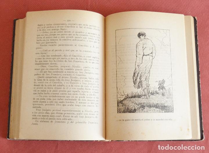 Libros antiguos: FLORECILLAS DE SAN FRANCISCO - ILUSTRACIONE JOSE SEGRELLES - VICH EDITORIAL SERIGRAFICA - 1927 - Foto 6 - 126251363